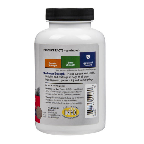 View larger image of Nutri-Vet Hip & Joint Advanced Strength Chewables for Dogs