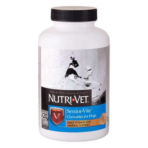 View larger image of Nutri-Vet Senior-Vite Chewables for Dogs