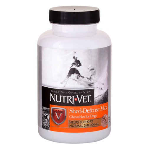View larger image of Nutri-Vet Shed Defense Max Chewables for Dogs