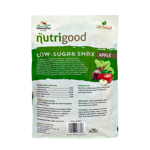 View larger image of Nutrigood Low-Sugar Snax for Horses