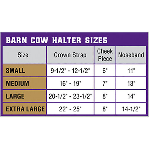 View larger image of Nylon Cattle Halter