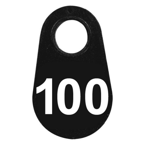 View larger image of Black Nylon Neck Tag