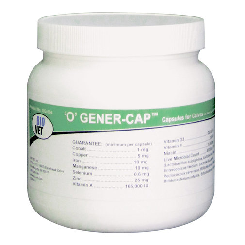 View larger image of 'O' Gener-Cap Capsules for Calves