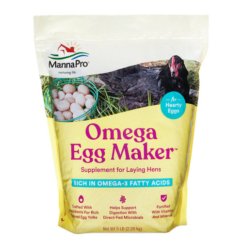 View larger image of Omega Egg Maker Supplement for Laying Hens