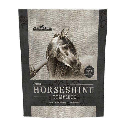 View larger image of Omega Horseshine Complete Horse Supplement