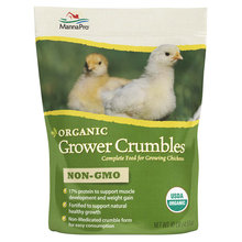 Organic Grower Crumbles for Poultry