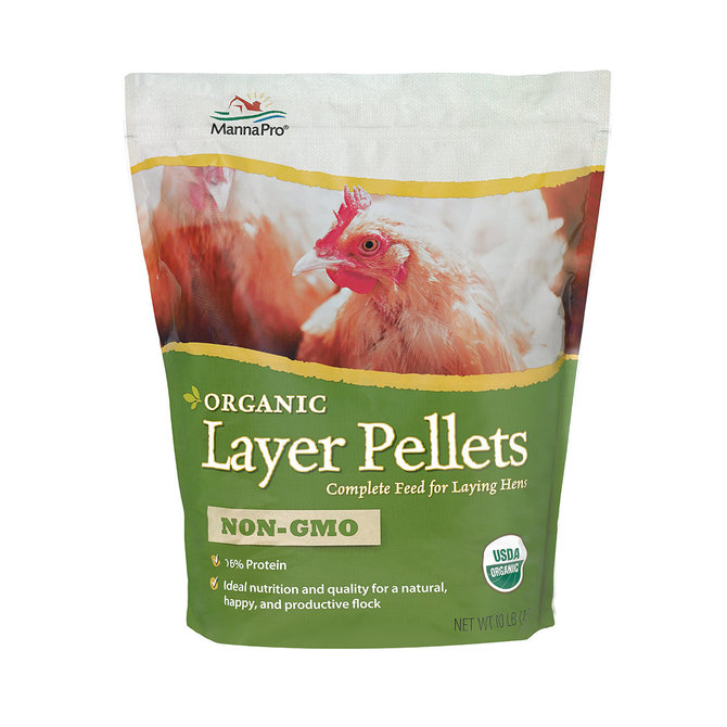 Organic Layer Pellets Complete Feed for Laying Hens