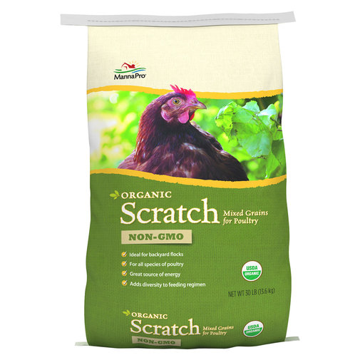 View larger image of Organic Scratch Mixed Grains for Poultry