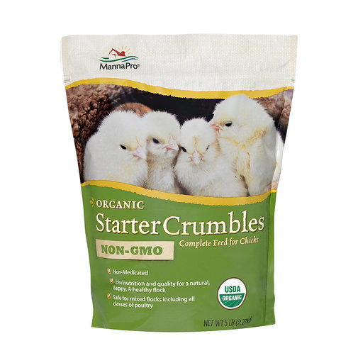 View larger image of Organic Starter Crumbles Complete Feed for Chicks