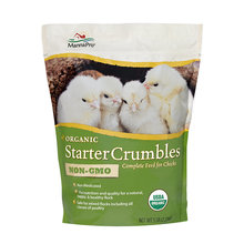 Organic Starter Crumbles Complete Feed for Chicks