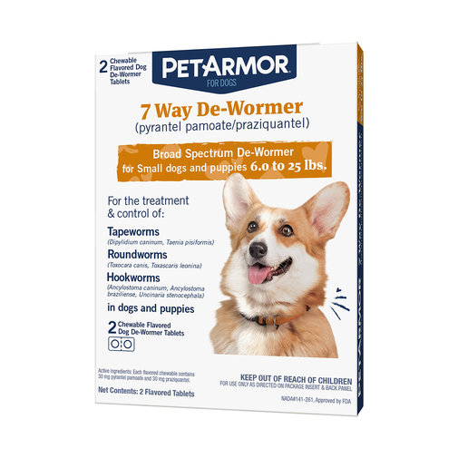 View larger image of PetArmor 7 Way Dewormer for Dogs