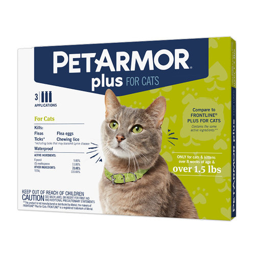 View larger image of PetArmor Plus Flea & Tick Protection for Cats