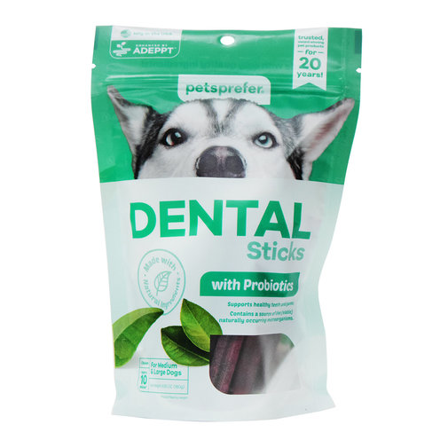 View larger image of Dental Sticks with Probiotics for Dogs