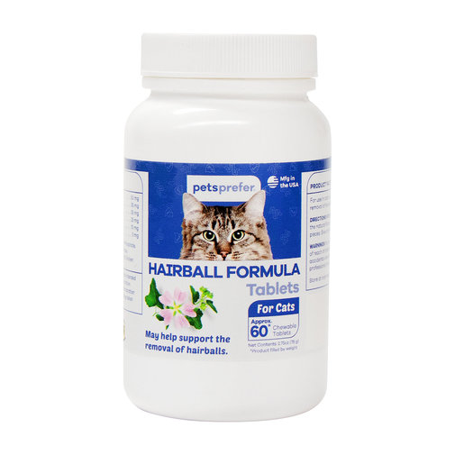 View larger image of Hairball Formula Tablets for Cats