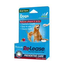 Plaque Re-Lease Tablets for Dogs