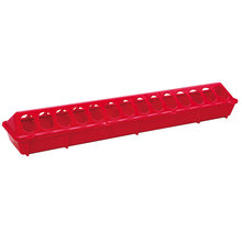 Plastic Flip-Top Ground Poultry Feeder