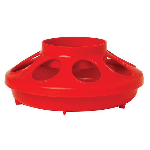 View larger image of Plastic Screw-On Poultry Feeder Base
