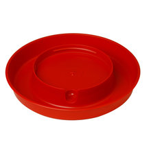 Plastic Screw-On Poultry Waterer Base for Gallon Jar