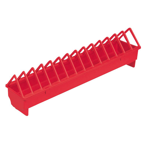View larger image of Plastic Trough Poultry Feeder