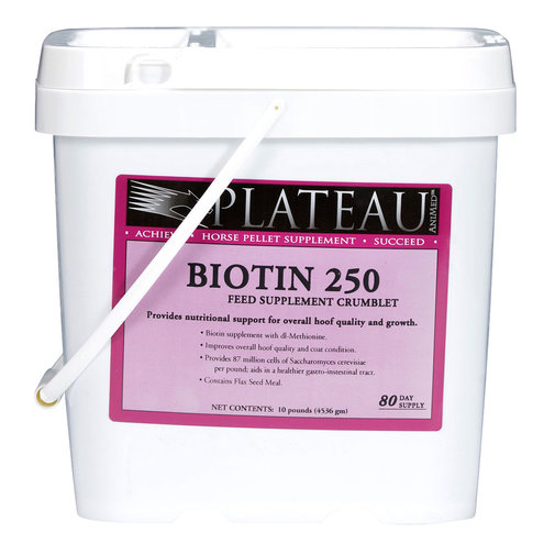 View larger image of Plateau Biotin 250 Crumblets for Horses