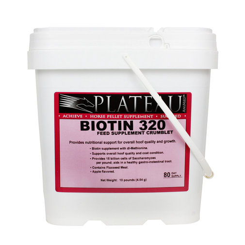 View larger image of Plateau Biotin 320 Crumblets for Horses