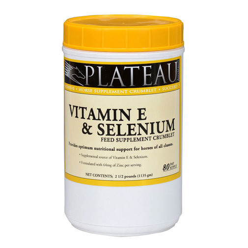 View larger image of Plateau Vitamin E & Selenium Crumblet Horse Supplement