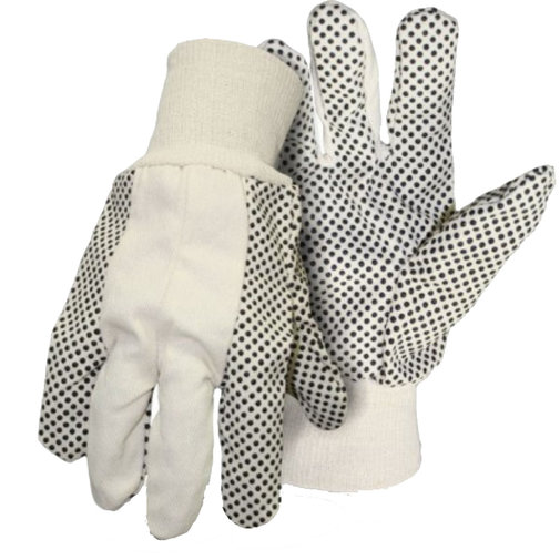 View larger image of Poly/Cotton Dot Gloves