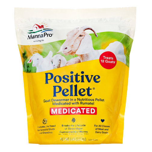 View larger image of Positive Pellet Goat Dewormer