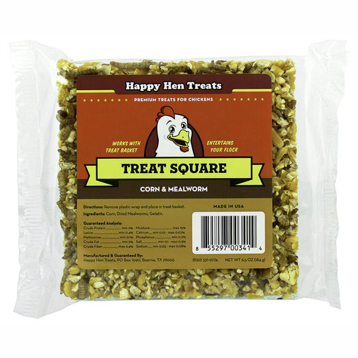 View larger image of Poultry Mealworm Treat Square