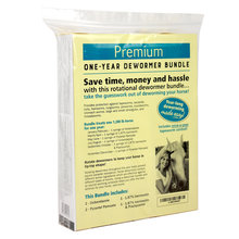 Premium One-Year Horse Dewormer Bundle
