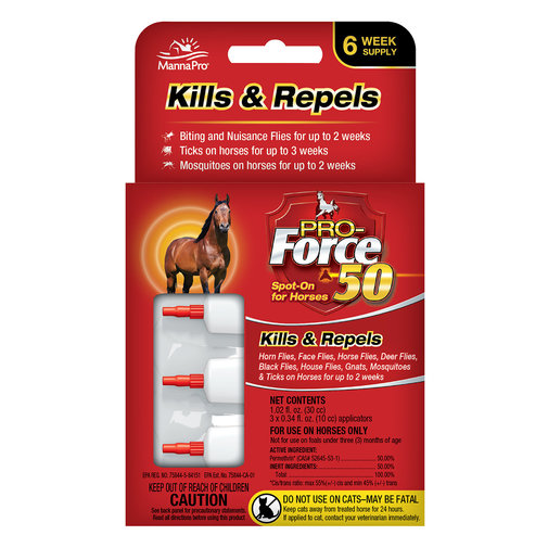 View larger image of Pro-Force 50 Spot On for Horses