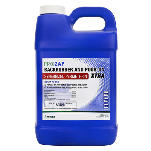 View larger image of Prozap Backrubber and Pour-On Xtra