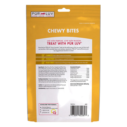 View larger image of Pur Luv Chewy Bites for Dogs