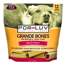 Pur Luv Grande Bones for Dogs