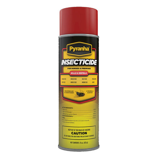 View larger image of Pyranha Insecticide Aerosol Premise and Horse Spray