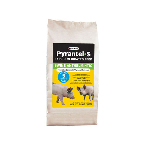 View larger image of Pyrantel S Type C Medicated Feed for Swine