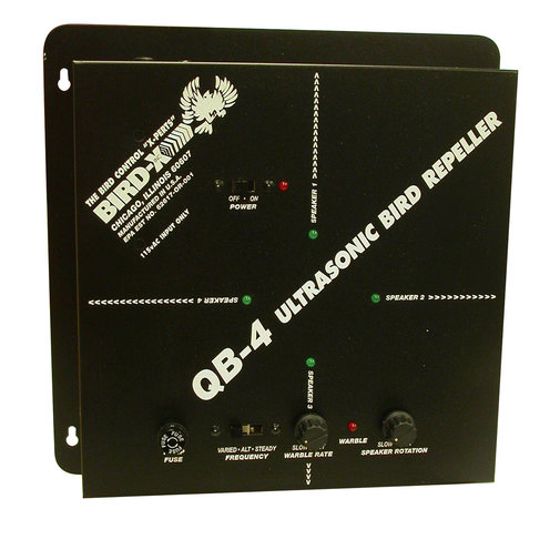 View larger image of Quadblaster QB-4 Electric Ultrasonic Bird Repeller