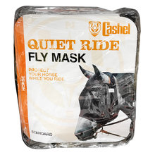 Quiet Ride Standard Nose Pasture Fly Mask without Ears