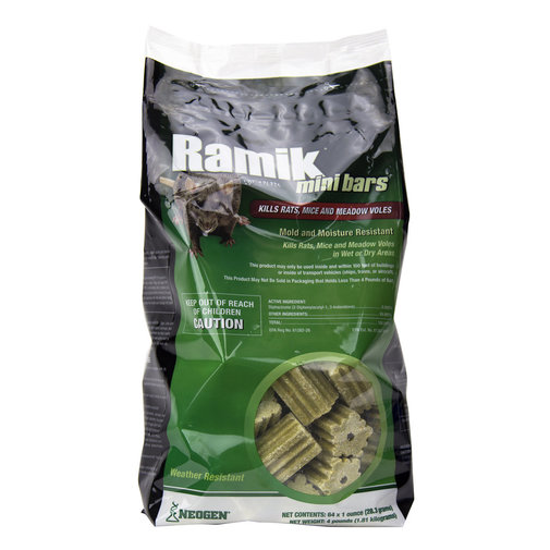 View larger image of Ramik Bars and Mini-Bars Rat and Mouse Bait