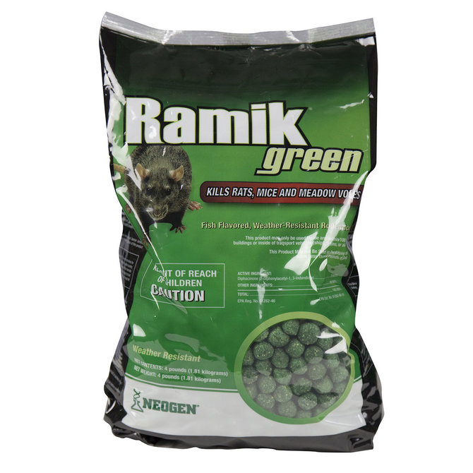 Ramik Green Nuggets Rat and Mouse Bait - PBS Animal Health