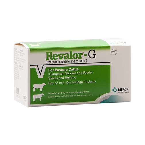 View larger image of Revalor-G Implants for Weaned Pasture Steers and Heifers