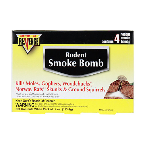 View larger image of Revenge Rodent Smoke Bombs