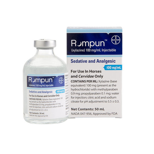 View larger image of Rompun 10% Injectable Rx