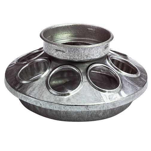 View larger image of Round 1 Quart Jar Metal Feeder Base