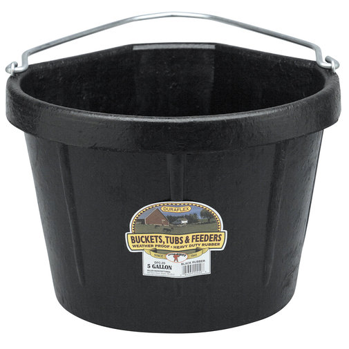 View larger image of Rubber 5 Gallon Corner Bucket