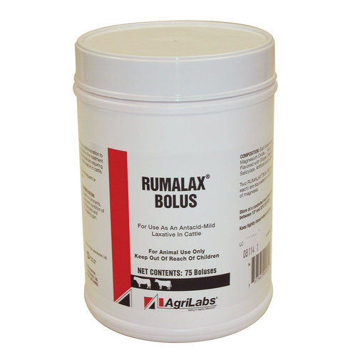 View larger image of Rumalax Antacid and Laxative Boluses for Cattle