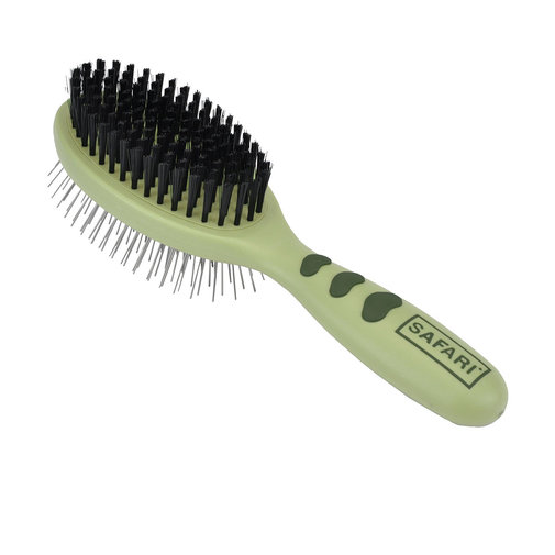View larger image of Safari Pin & Bristle Combo Dog Brush