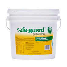 Safe-Guard 32SG Mineral Type C Medicated Dewormer Beef Cattle Feed