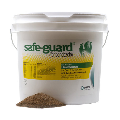 View larger image of Safe-Guard Free Choice Mineral for Cattle