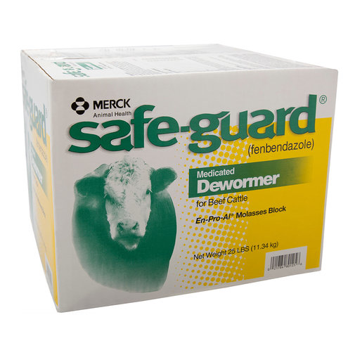 View larger image of Safe-Guard Medicated Dewormer Beef Cattle Block